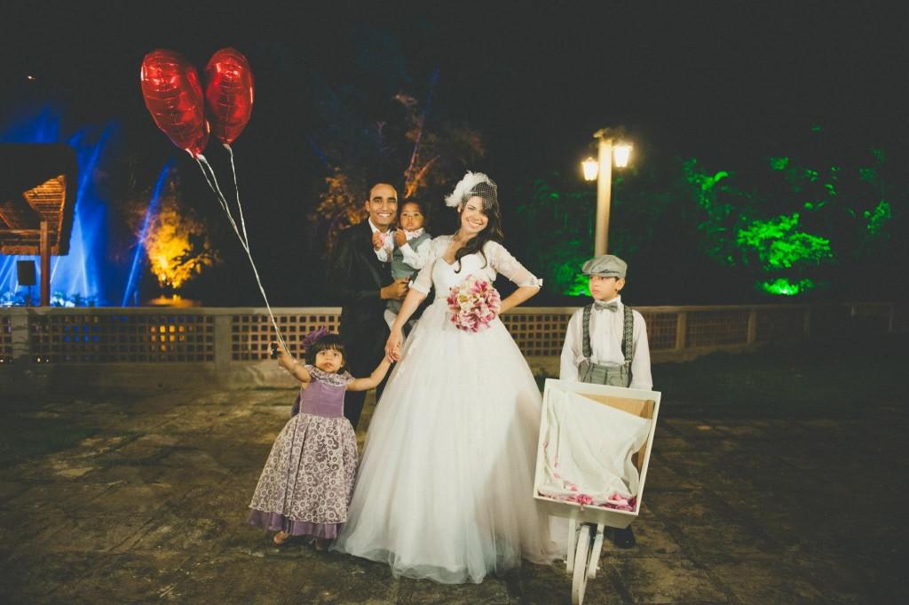Carriola para casamento