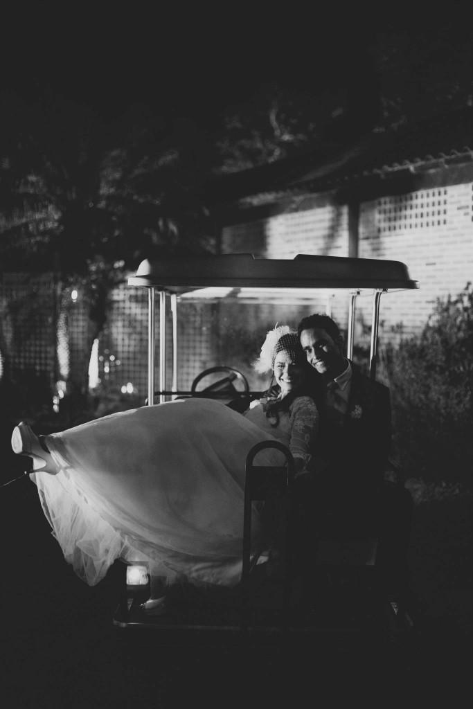 carrinho de golfe para casamento
